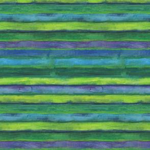 Green Wheels Green Stripes