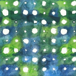 Green Wheel Dots