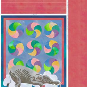 Sleeping Elephant Quilt