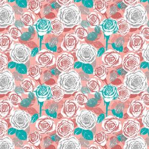 Cassie's Coral Roses