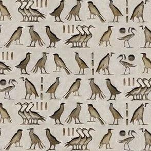 Egyptian birds hieroglyph
