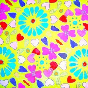 Hearts & Flower Power©