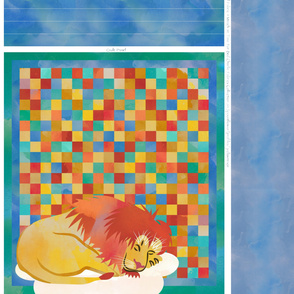 Sleeping Lion Quilt