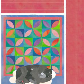 Sleeping Gorilla Quilt