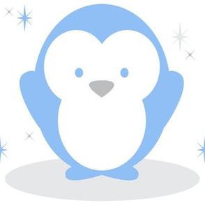 Baby Boy Blue Antarctic Penguin - Large