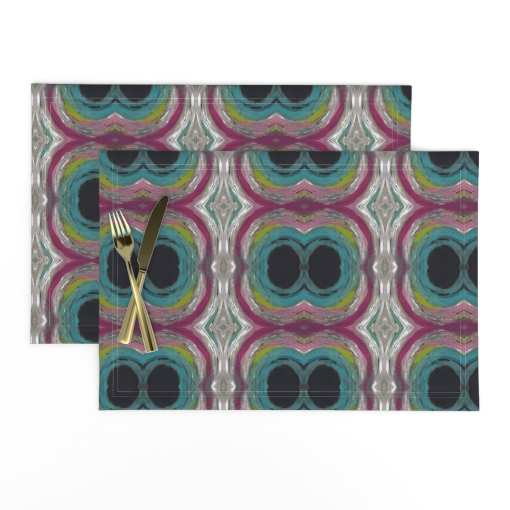 Lamona Cloth Placemats featuring The Eyes Have It by catherine's_colors