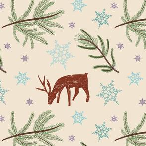 reindeer-pine