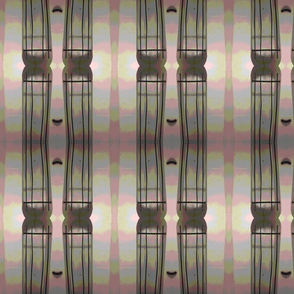 Big Bamboo Wonky Stripes