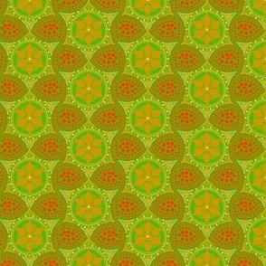 christmas cactus mandalas