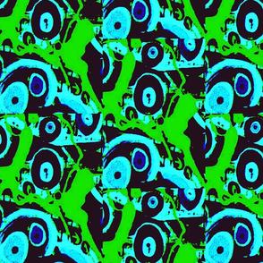 evil eye swirl