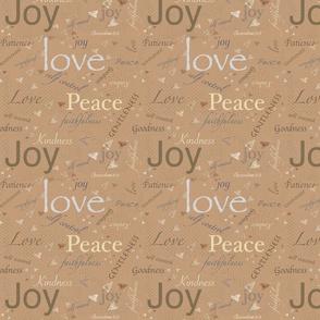 Love, Joy, Peace
