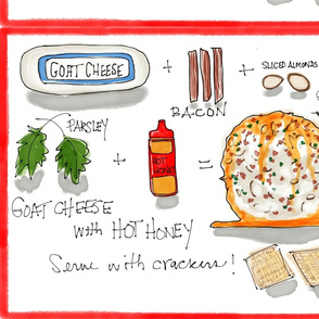 Recipe: Goat Cheese with Hot Honey