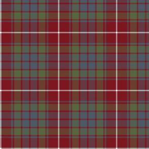 """Fraser red gathering weathered tartan, 7"""""""
