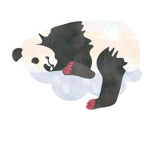 Sleeping Panda Fat Quarter