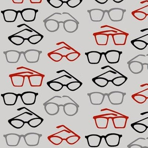Groovy Glasses in Gray