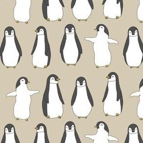 penguin // baby penguins cute baby pingu fabric winter nursery baby design