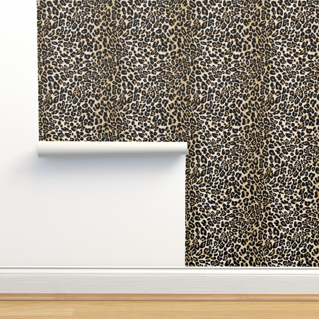 Isobar Durable Wallpaper featuring classic leopard by cinneworthington
