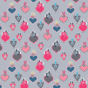 Sacred Hearts Gray