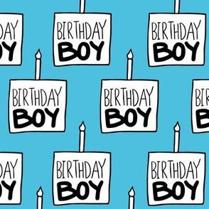 Birthday Boy in Blue - Large