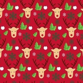 Christmas Reindeer Hipsters  Lights Hipster