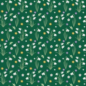 Snowdrops - Green