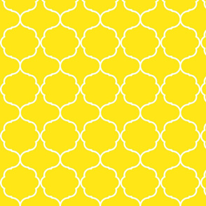 Hexafoil Yellow and White