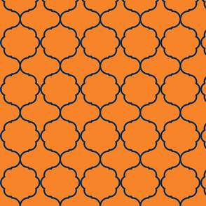 Hexafoil Orange and Navy