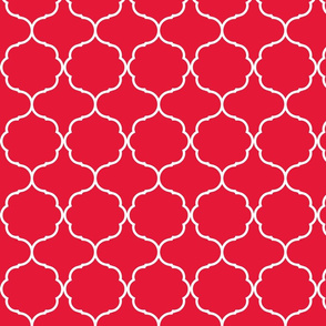 Hexafoil Red and White
