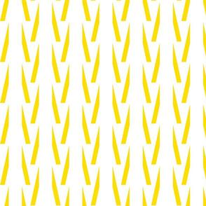 Aztec Stripes Yellow/White-ch-ch-ch