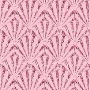 Pink Shell Seashell Glitter /Pink