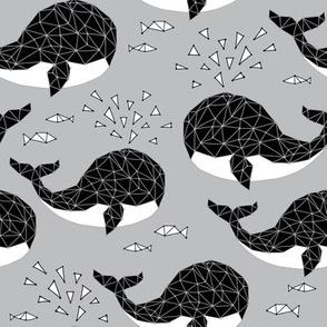 geometric whale
