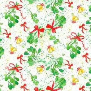 Mistletoe, Bells ,and Bows
