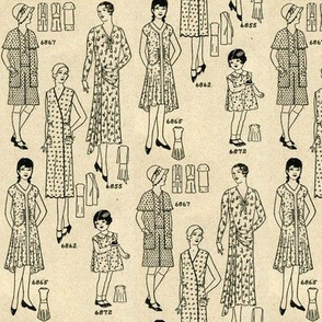 Fashion in Summer 1930