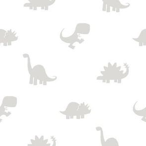 Dino Dot - Gray