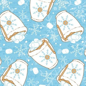 Snowing Marshmallows and Cocoa
