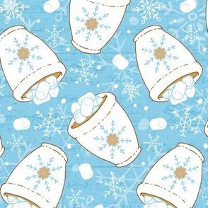 Snowing Marshmallows