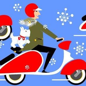 Dashin'thru'the snow