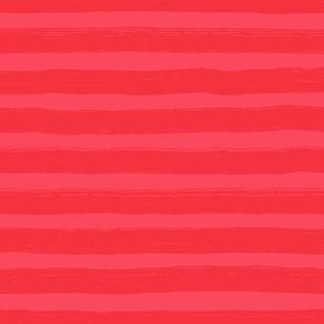 Bristle Stripes -  Cranberry