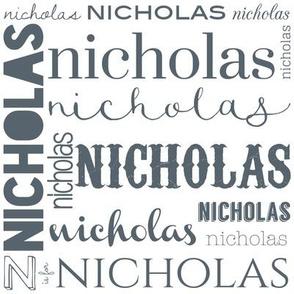 Nicholas Personalized Design