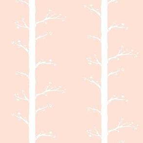 Budding Branches, Soft Peach