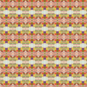 Trout Lake Rainbow Plaid  -with scribbles