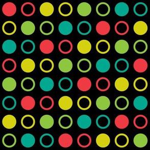 Pop Bot Dot Black