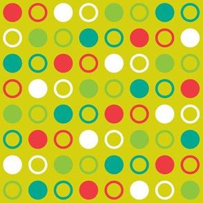 Pop Bot Dot Yellow