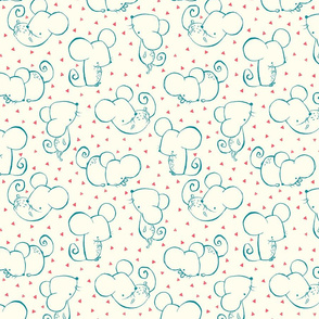 Inky Mouse Nursery