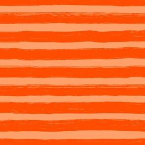 Bristle Stripes - Grapefruit