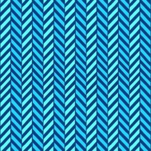Neon blue Herringbone  // Turquoise chevron // Turquoise Herringbone Chevron // blue and teal chevron