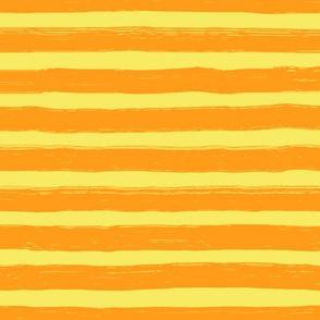 Bristle Stripes - Tangerine