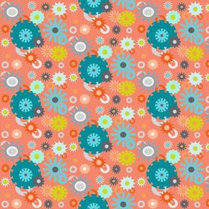 cog floral coral