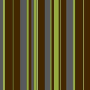 Urban green / stripe