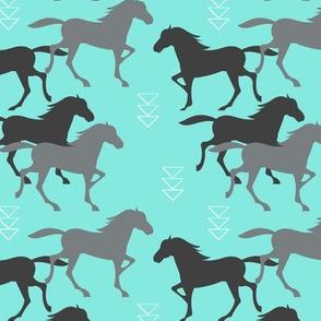 Wild Horses Turquoise